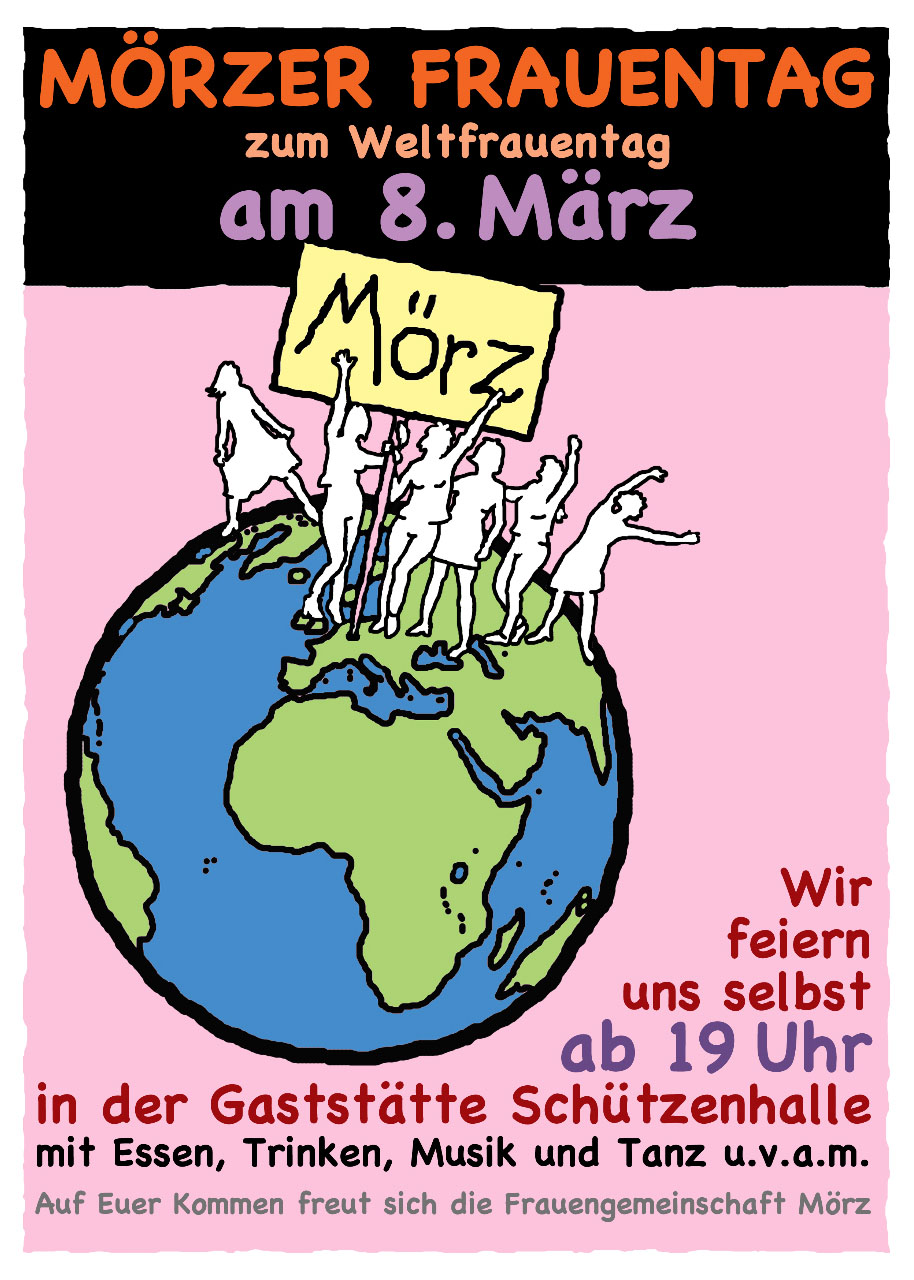 Frauentag in Mörz